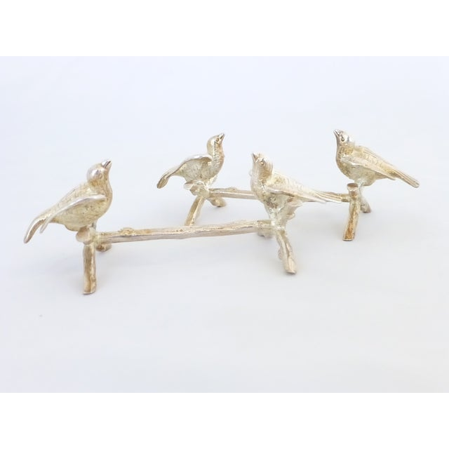 Figural Bird Knife Rests - A Pair - Image 2 of 6