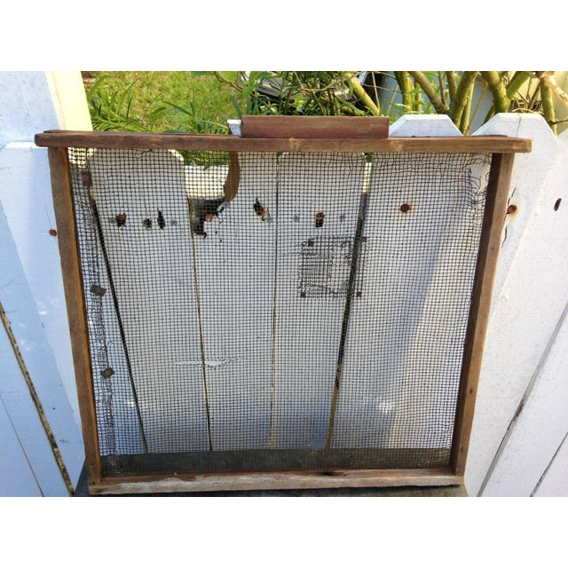 Primitive Agrarian Hand-Built Apple Drying Cabin - Image 7 of 9