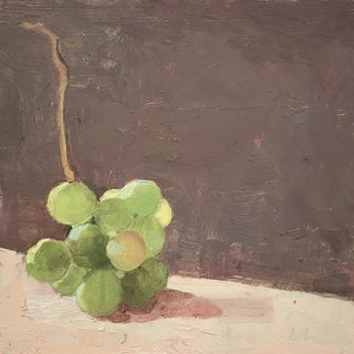 Grapes on Mauve Original Oil Painting