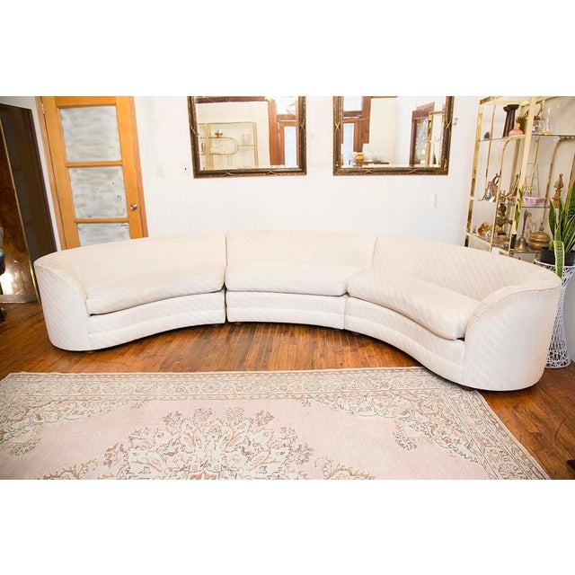 Henredon Curved Sectional Sofa Chairish