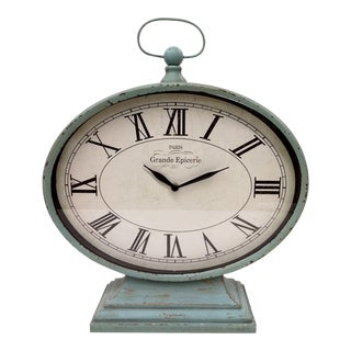 New Large Vintage-Style Mantel Clock