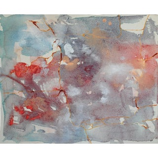Vintage Watercolor Abstract I