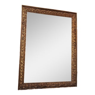Early 18th Century Monumental Frame Presented as a Mirror