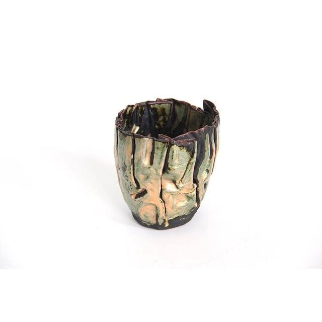 Studio Enamel Copper Vessel - Image 2 of 5