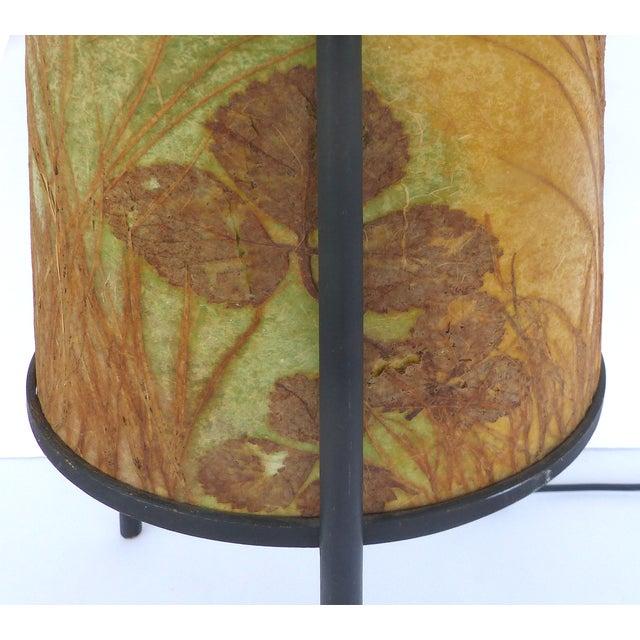 Image of 1950s Botanical Shadow Lamp