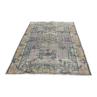 Turkish Oriental Rug - 5′9″ × 8′3″