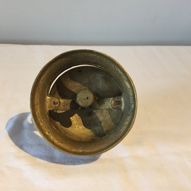Image of 1950s Brass Hotel Reception Bell