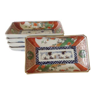 Japanese Imari Serving Plates - Set of 5