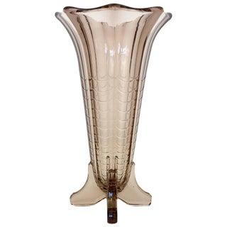 Val Saint Lambert Art Deco Vase