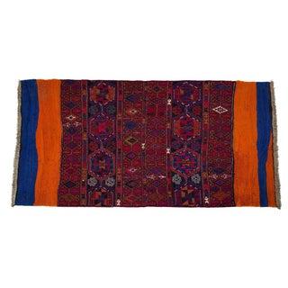 Vintage Turkish Tribal Rug - 4′3″ × 6′3″