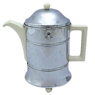 Art Deco Coffee Pot & Insulated Cozy