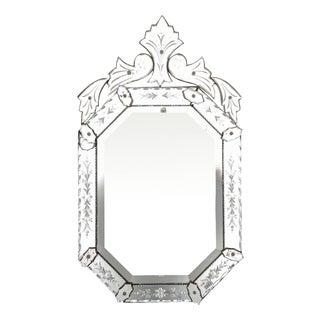 Vintage Venetian Octagonal Mirror