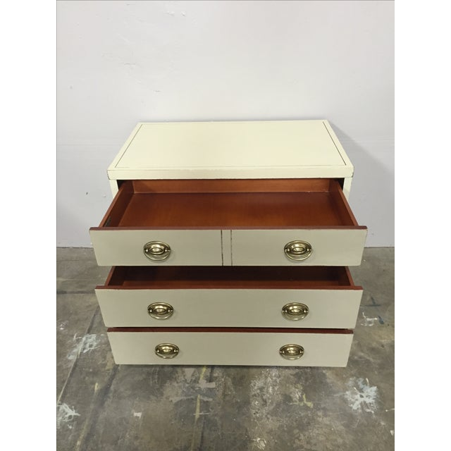Shabby Chic 2-Toned Dresser - Image 5 of 8