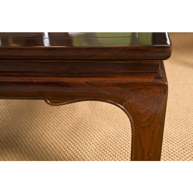 Mid-Century Coffee Table in the Style of Michael Taylor - Image 6 of 7
