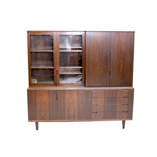 Rosewood China Cabinet by Svend Langkilde