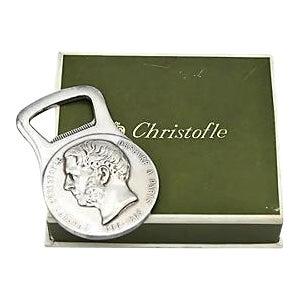 Christofle Silver-Plate Bottle Opener - Image 1 of 5