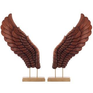Wooden Décor Wings II