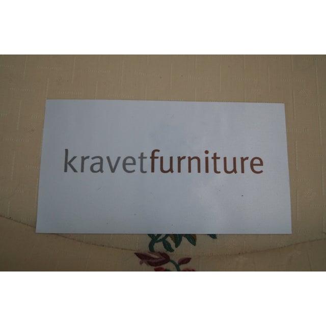 Kravet Mahogany French Louis XVI Chairs - Pair - Image 7 of 10