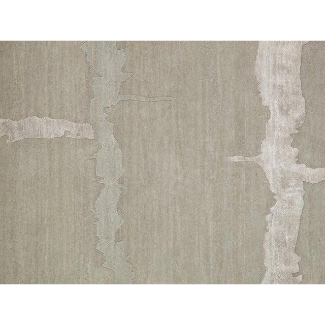 "Pasargad Modern Silk & Wool Rug - 8'0"" X 9'11"" - Image 2 of 4"