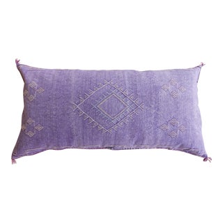 Violet Moroccan Sabra Cactus Lumbar Cushion