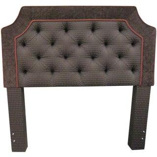Custom Upholstered Full Size Headboards - Pair