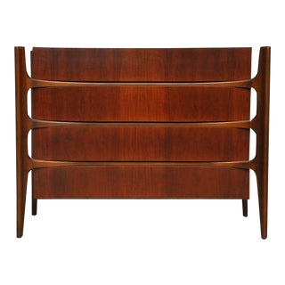 William Hinn Walnut Chest of Drawers