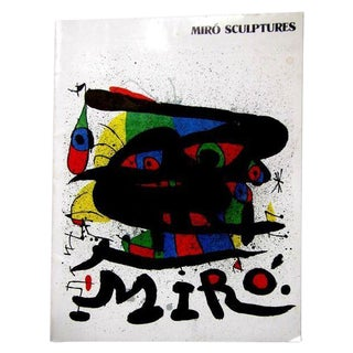 Miro 1971 Sculptures Catalog