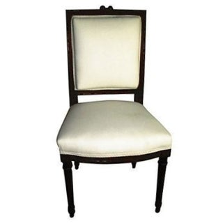 French Walnut Side Chair
