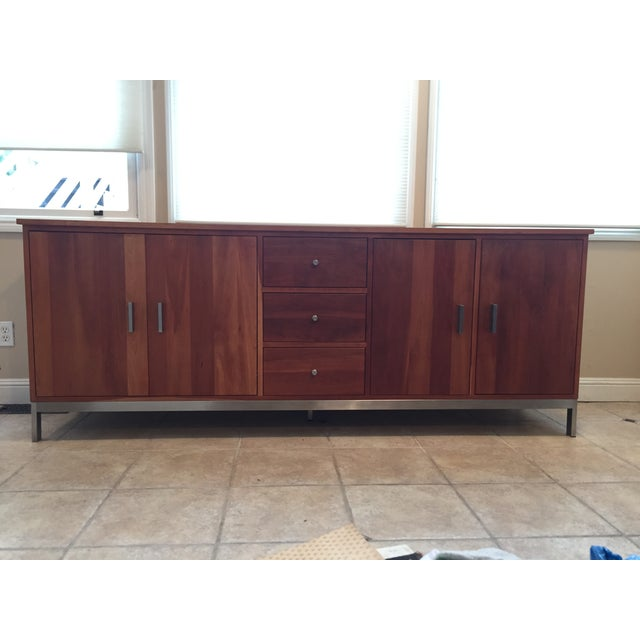 Room & Board Cherry Wood Custom Credenza - Image 9 of 10
