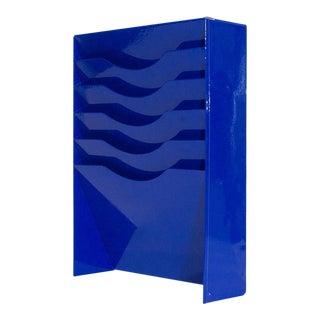 Electric Blue File Holder