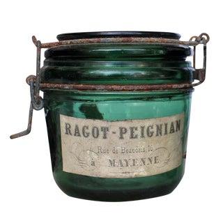 Ragot-Peignian Rue De Benudais French Jar