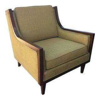 Dunbar Walnut Club Chair Attributed to Edward Wormley