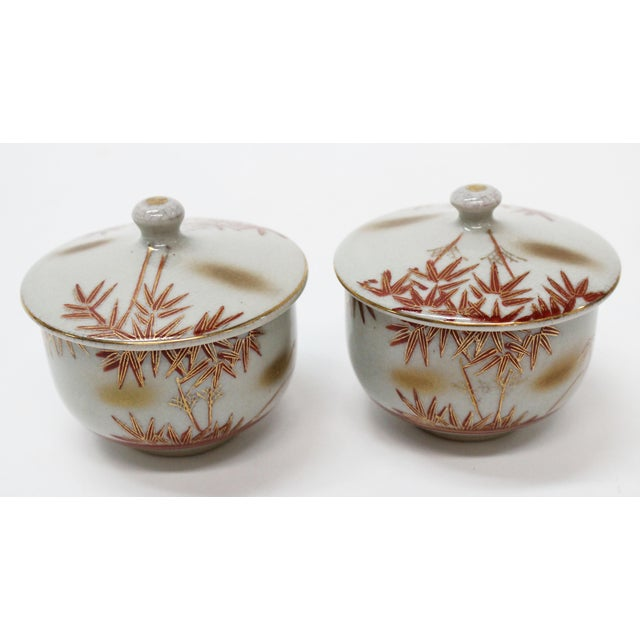 Vintage Asian Tea Serveware - Set of 6 - Image 6 of 7
