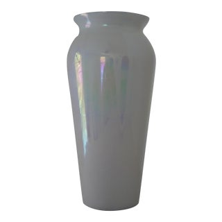 American Hand Blown Glass Vase