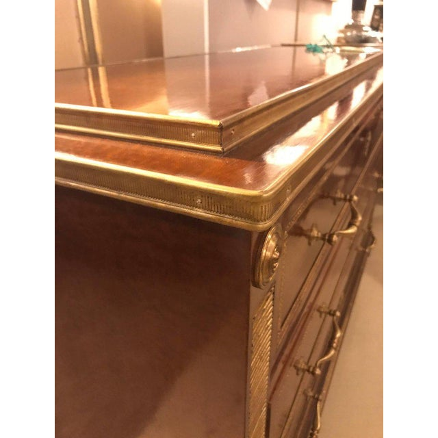 Bronze Mounted Step Up Commodes in the Russian Neoclassical Style - A Pair - Image 10 of 10