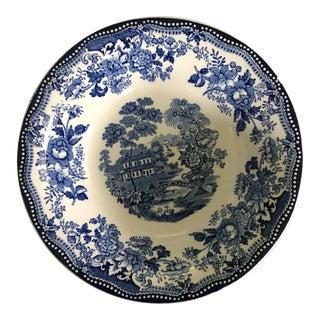 Blue & White Royal Staffordshire Bowl