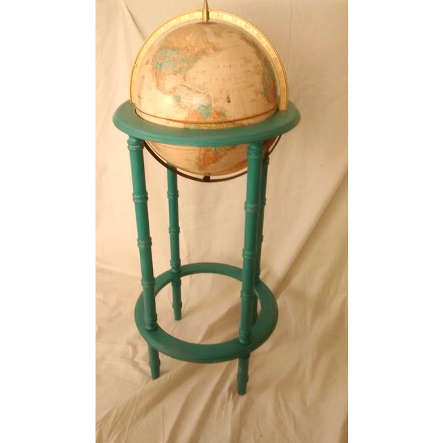 MCM Crams Imperial World Globe on Wooden Stand - Image 3 of 10