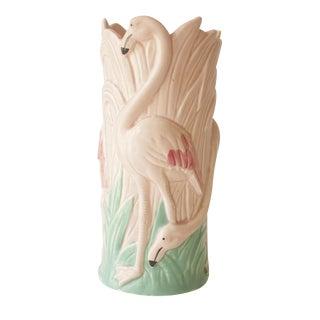 Vintage Palm Beach Flamingo Vase
