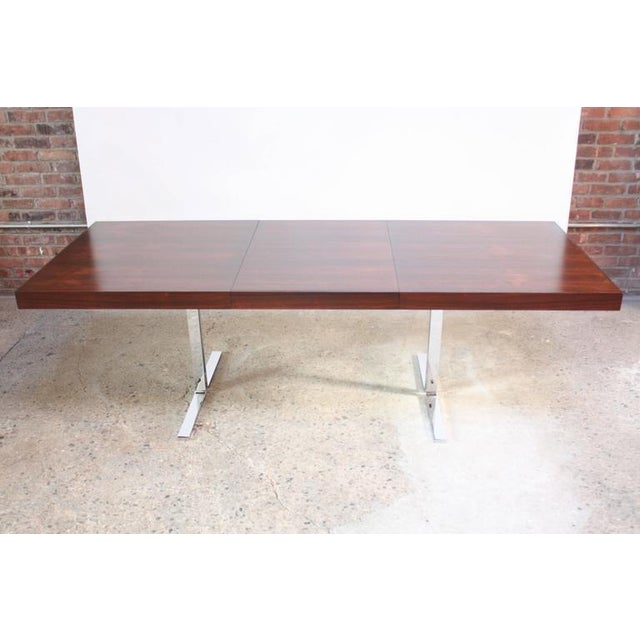 Poul Nørreklit Low Rosewood Extension Table for Georg Petersens - Image 10 of 10