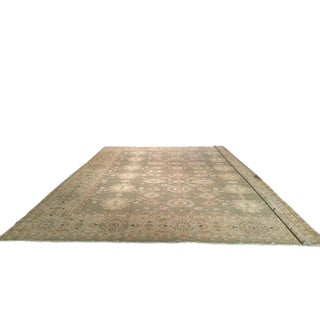 Traditional Hand Knotted Rug - 13′6″ × 16′