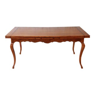 Baker Provincial Maple Draw Table