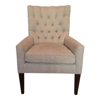 Custom Tufted Wingback Chair - a Pair