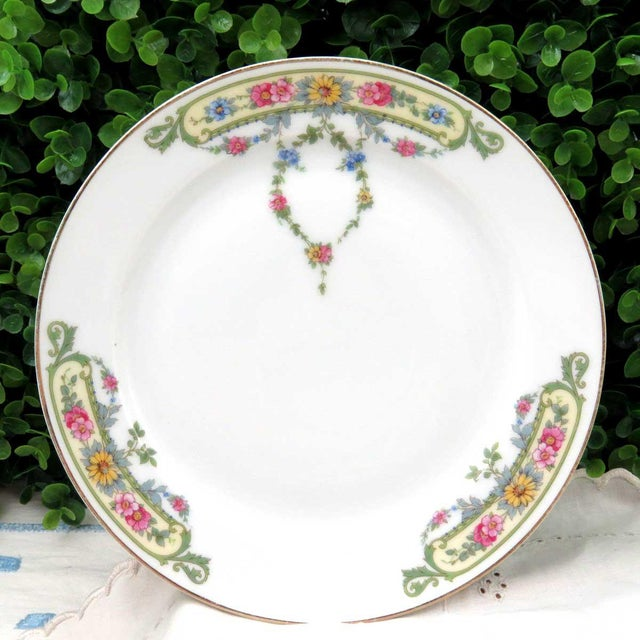Vintage Mismatched China Dessert Plates - Set of 4 - Image 4 of 8