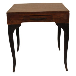 Traditional Square Accent Table
