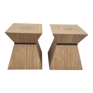 Kreiss Furniture Modernist Side Tables - A Pair