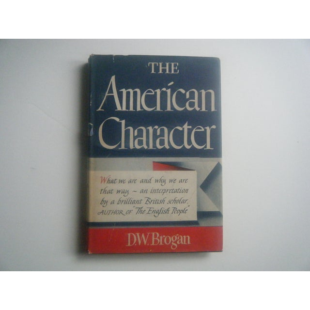 Image of The American Character, 1940s Vintage Book