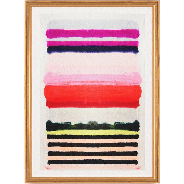 """Kristi Kohut """"Vibrant Stripe"""" Fine Art Giclée - Image 2 of 3"""