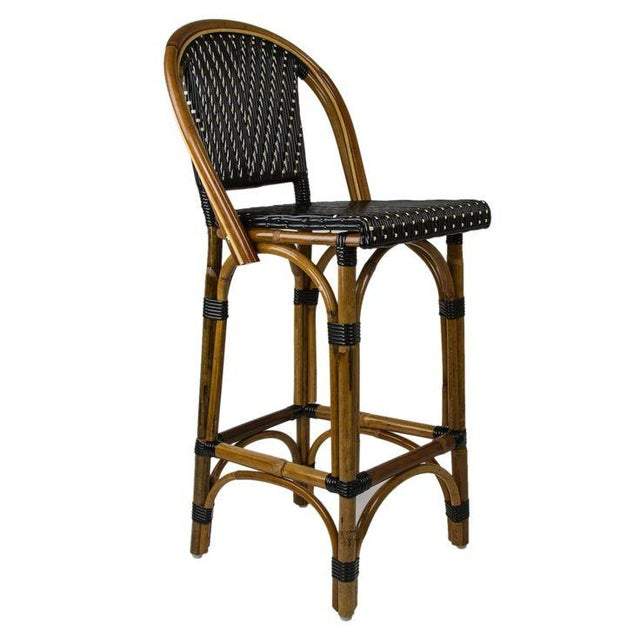 French Bistro Style Stools - A Pair - Image 1 of 3