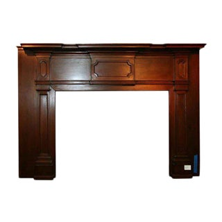 19th Century American Wood Mantel