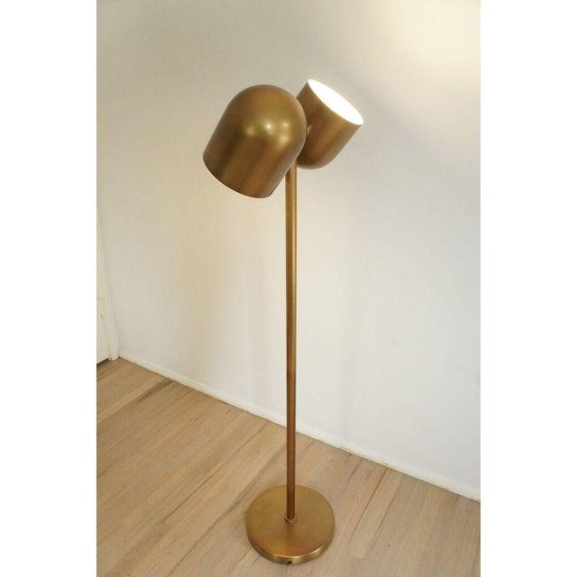 Brass Floor Lamp - Image 3 of 8